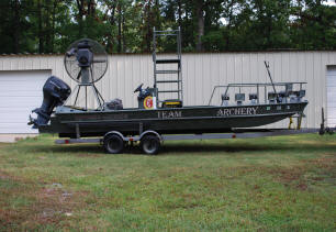 Weld-Craft Bow Fishing Boat